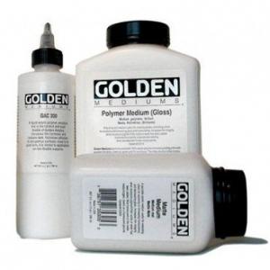 Golden Polymer Gloss Medium: 32 oz. (946ml) Jug