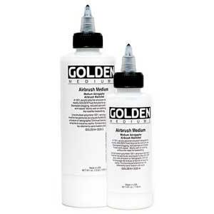 Golden Airbrush Medium: 32 oz. (946ml) Jug