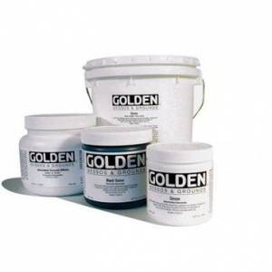 Golden Traditional Gesso: White, 128 oz. (3.78 Liter) Pail