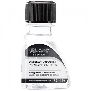 Winsor & Newton Distilled Turpentine: 75ml Canada
