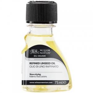 Winsor & Newton Refined Linseed Oil: 75ml Canada