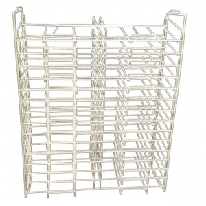 """Art Wire Works Stackable Paper Display: Racks for 12"""" x 12"""", 30 Facing"""