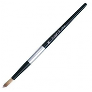 Dynasty® Black Silver® Blended Synthetic Watercolor Brush Round 8: Short Handle, Bristle, Round, Watercolor, (model FM32826), price per each