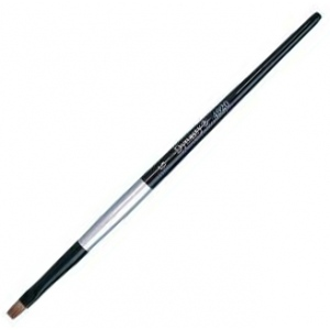 Dynasty® Black Silver® Blended Synthetic Watercolor Brush Bright 10: Short Handle, Bristle, Bright, Watercolor, (model FM32807), price per each