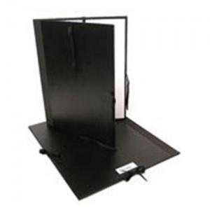 "Cachet® 23"" x 31"" Classic Portfolio; Color: Black/Gray; Material: Fiberboard, Paper; Size: 23"" x 31""; (model CS471302331), price per each"