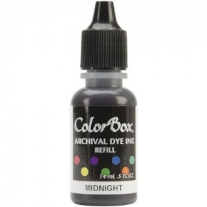 ColorBox® Archival Dye Refill Midnight; Color: Blue; Format: Pad; Ink Type: Dye-Based; (model CS27426), price per each