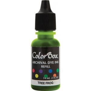ColorBox® Archival Dye Refill Tree Frog: Green, Pad, Dye-Based, (model CS27417), price per each