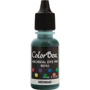 ColorBox® Archival Dye Refill Mermaid; Color: Blue; Format: Pad; Ink Type: Dye-Based; (model CS27410), price per each