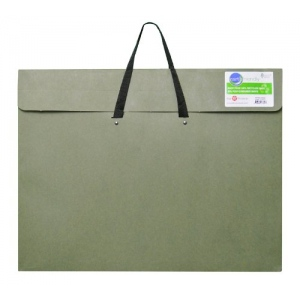 "Star® 17"" x 22"" Earth Friendly Portfolio: Green, 2"", Recycled Fiberboard, 17"" x 22"", (model G319H), price per each"