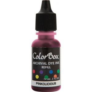 ColorBox® Archival Dye Refill Pinkolicious: Red/Pink, Pad, Dye-Based, (model CS27406), price per each