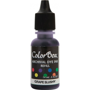 ColorBox® Archival Dye Refill Grape Slushy; Color: Purple; Format: Pad; Ink Type: Dye-Based; (model CS27407), price per each