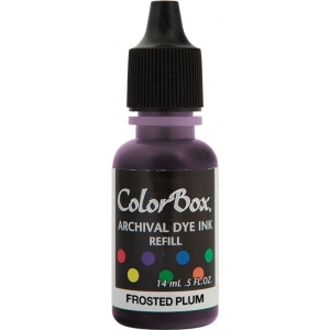 ColorBox® Archival Dye Refill Frosted Plum; Color: Purple; Format: Pad; Ink Type: Dye-Based; (model CS27408), price per each