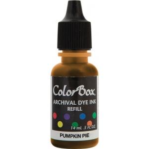 ColorBox® Archival Dye Refill Pumpkin Pie; Color: Orange; Format: Pad; Ink Type: Dye-Based; (model CS27401), price per each