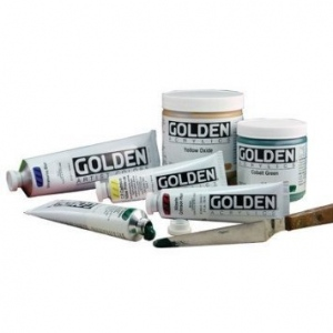 Golden® Heavy Body Acrylic 4 oz. Teal: Blue, Tube, 4 oz, Acrylic, (model 0001369-4), price per each