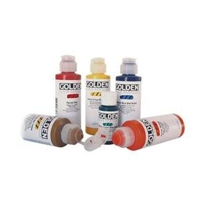 Golden® Fluid Acrylic 8 oz. Teal: Blue, Bottle, 8 oz, Acrylic, (model 0002369-5), price per each