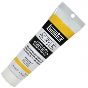 Liquitex® Professional Series Heavy Body Color 4.65oz Cadmium Yellow Medium Hue: Yellow, Jar, 138 ml, Acrylic, (model 1047830), price per tube