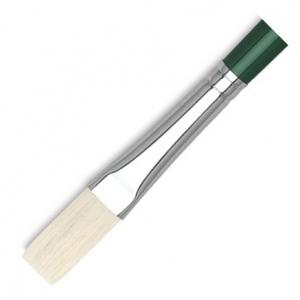 Dynasty® Interboro® Bristle Oil & Acrylic Brush Flat 10: Long Handle, Bristle, Flat, Acrylic, (model FM10581), price per each