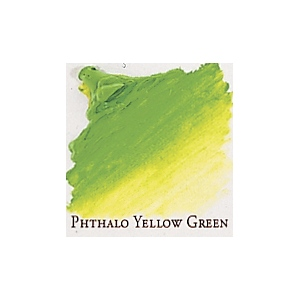 Professional Permalba Phthalo Yellow Green: 37ml Tube