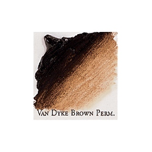 Professional Permalba Vandyke Brown Permanent: 37ml Tube