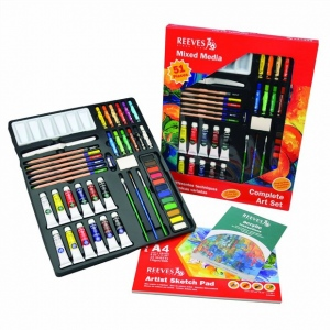 Reeves™ Mixed Media Complete Art Set; Type: Art Kit; (model 8210150), price per set