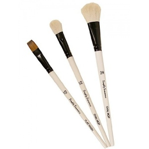 Daler-Rowney Simply Simmons Mop Up 3-Brush Set: Synthetic Bristle, Acrylic, (model SS255300005), price per set