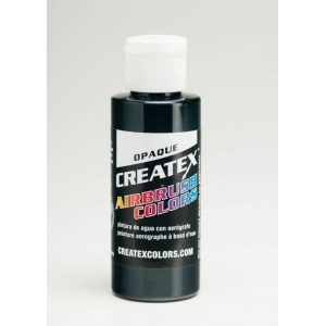 Createx™ Opaque Airbrush Paint 32oz. Black: Black/Gray, Bottle, 32 oz, Airbrush, (model 5211-32), price per each
