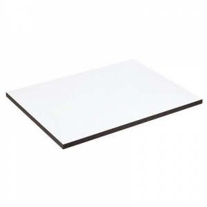 "Alvin® XB Series Drawing Board / Tabletop 37 1/2"" x 42"": White/Ivory, Melamine, 37 1/2"" x 42"", (model XB138), price per each"