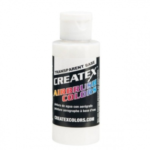 Createx™ Airbrush Transparent Base 16oz; Color: Clear; Format: Bottle; Size: 16 oz; Type: Airbrush; (model 5601-16), price per each