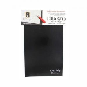 "Richeson Lino Grip 7.5"" x 10.25"" 24-Pack: Black/Gray, 7 1/2"" x 10 1/4"", Block Grip, (model 698995), price per pack"