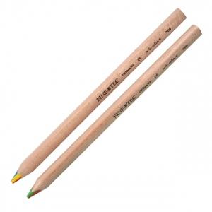 Finetec Chubby Multi-Color Pencil; Color: Multi; Format: Pencil; Lead Color: Multi; Lead Size: 6mm; (model F700), price per each