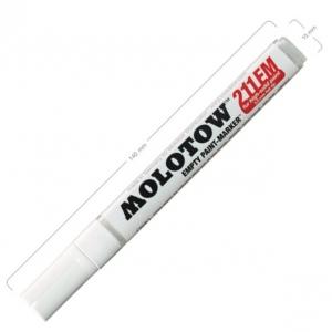 Molotow Round Tip Empty Marker: 4mm