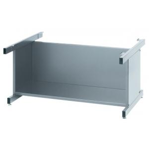 "Mayline® High Base C-File Gray: Black/Gray, 20"", Steel, (model 7877G), price per each"