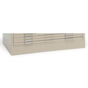 "Mayline® Flush Base C-File Sand; Color: Brown; Height: 4""; Material: Steel; (model 7868WS), price per each"