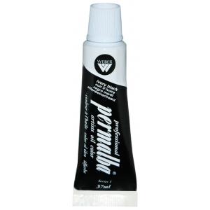 Professional Permalba Ivory Black: 37ml Tube