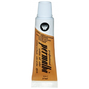 Professional Permalba Indian Yellow Permanent: 37ml Tube