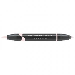Prismacolor® Premier Brush Marker Ballet Pink Light; Color: Red/Pink; Double-Ended: Yes; Ink Type: Alcohol-Based, Dye-Based; Tip Type: Brush Nib, Fine Nib; (model PB003), price per each