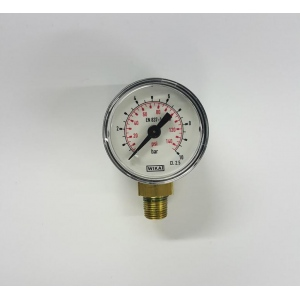 "Silentaire Side-mounted Pressure Gauge : M1/8""-side 10 Bar d=40mm"