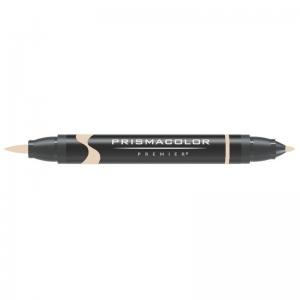 Prismacolor® Premier Brush Marker Light Umber 20%; Color: Brown; Double-Ended: Yes; Ink Type: Alcohol-Based, Dye-Based; Tip Type: Brush Nib, Fine Nib; (model PB271), price per each