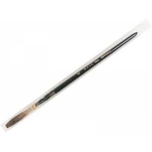 Mack Grey Pencil Quill Series 189: White Plain Wood Handle Size-8