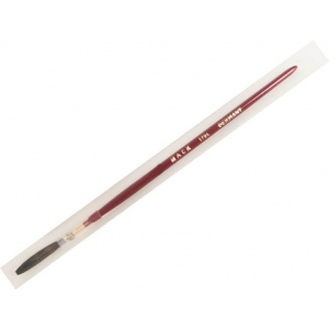 Mack Brown Pencil Quill Series 179L: With Red Lacquered Handle, Size-7