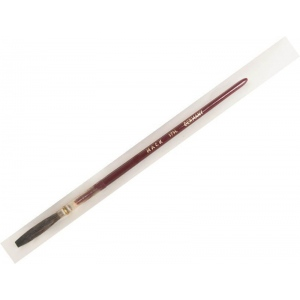 Mack Brown Pencil Quill Series 179L: #10, With Red Lacquered Handle