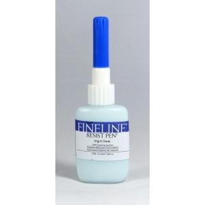 Fineline Resist Pen - Masking Fluid Pen With Dispensing Applicator: 20 Gauge (0.5 mm) Stainless Tip, 1.25 Oz
