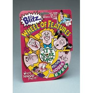 Bruce Blitz Cartooning Wheel Of Features