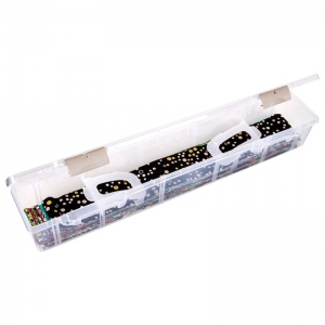 "ArtBin Fabric Ribbon Case: 24"" x 4.75"" x 3.5"""