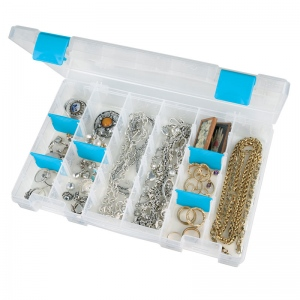 "ArtBin Zerust Anit Tarnish Box: Size Medium, 6 Compartment, 10.75"" x 7.38"" x 1.75"""