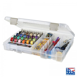 "ArtBin Bobbin and Supply Box: Translucent, 10.75"" X 7.38"" X 1.75"""