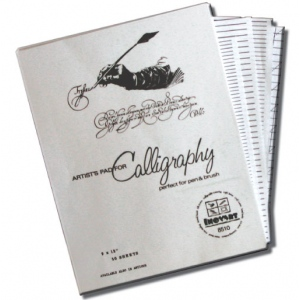 Inovart Calligraphy Paper And Lettering Guides