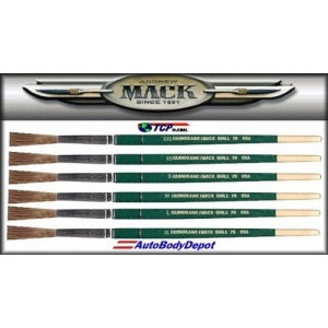 Mack Hannukaine Graduated Quill Series 79: Set of 6