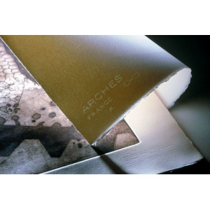 "Arches® 29.5"" x 41"" Cover Printmaking Sheet White: White/Ivory, Sheet, 29 1/2"" x 41"", Medium, (model C204261158), price per sheet"