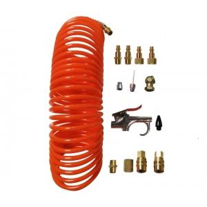 California Air Tools 376: 14 Piece Air Hose & Air Tool Accessory Kit